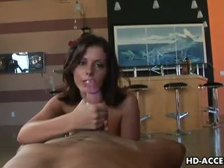 Sexy Penny Flame gives an amazing handjob!