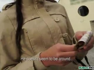 Eurobabe pounded in exchange for money
