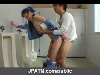 Japonesa público sexo - asiática adolescentes exposing fuera part03