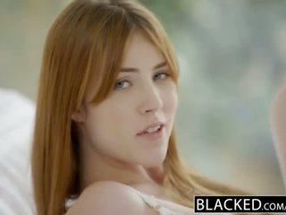 Blacked gwen stark e amarna miller primeiro inter-racial sexo a três