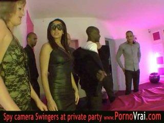 Francúzske swinger párty v a súkromné klub časť 03