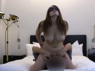 Busty Amateur Takes Two Creampies
