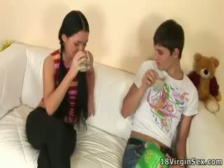 Passionate sex of Vendy and her boyfriend.
