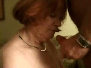 bbw, おばあちゃん, 赤毛