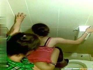 Voyeur Public Toilet Sex Video