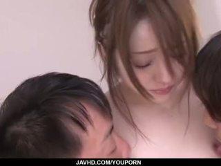 japanese, mmf, kuk suger