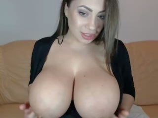 big boobs, vebkameras, liels dabas krūtis