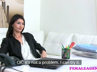 Femaleagent agent fucks حار استمناء نموذج مع كبير دسار