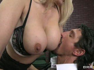 dowolny titty kurwa, jakość nauczycielstwo, zabawa blondynka sprawdzać