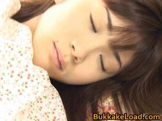 Asuka ohzora hawt ázijské modelka acquires sex cream