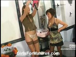 Mix of kino by girls for matures