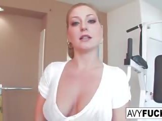 Avy Scott gets a Fucking with Her Workout Routine: Porn 6d