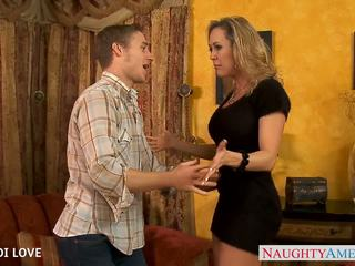 Blonde siren Brandi Love fucking