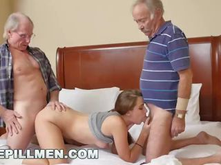 Bluepillmen - introducing قديم رجل duke إلى في سن المراهقة naomi alice (bpm14870)