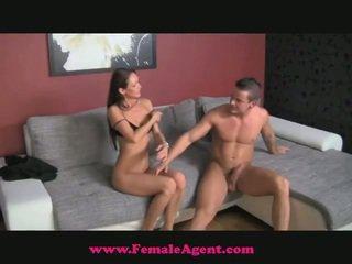 FemaleAgent Accidental Jizzpie Casting