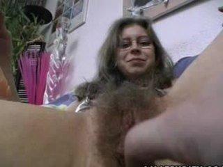 amateur, hairy
