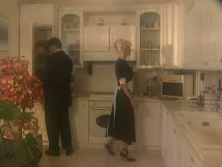 Anita 金發 性交 在 該 kichen 視頻