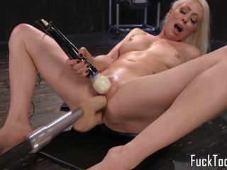 Blonde Spreads Legs for Pussy and Anal Toying: Free Porn 15