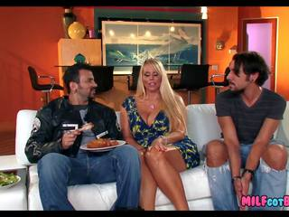 Fucking His Friends Hot Blonde Mom, Free Porn eb