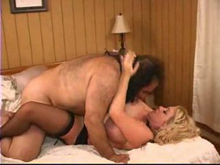 Ron Jeremy makes love to a mature buxom woman Pt 4/4