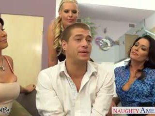 blowjobs, šilčiausias grupinis seksas žiūrėti, milfs kokybė