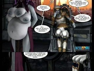 Tatlong-dimensiyonal komiko: galacticus. chapters 8-12