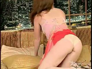 Pink titted honey Aimee Sweet gets too hot to handle baring off her sexy body