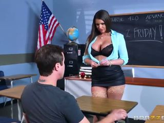 estudiante, botín, big boobs