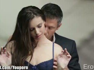 EroticaX Most passionate kiss leads to sex