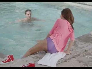 babe, pool, hot