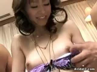 onlaýn brunette see, blowjob, new threesome fun