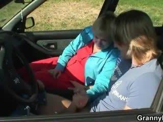 Kereta driver bangs nenek pelacur