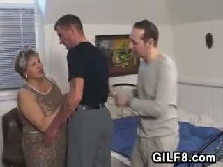 бабуся, жир, старий + молодий