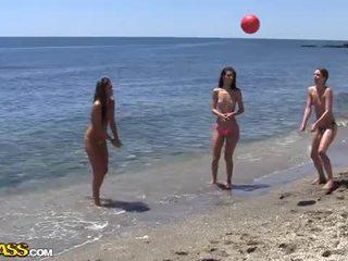 Akademi seks pesta di bawah itu matahari heat dari itu pantai