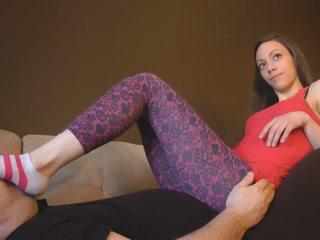 babes, feticismo del piede, femdom