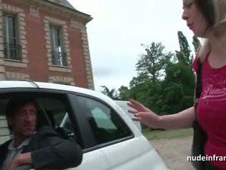 Francesa mqmf duro banged y jizzed en tetitas por un taxi driver