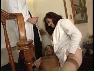 double penetration, velká prsa, velké zadky