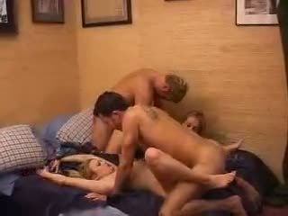 Full On Amateur Wife Swap 4some