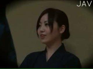 japonês, voyeur, massagem