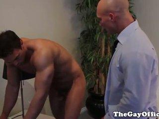 Rocco reed assfucked trong công việc văn phòng