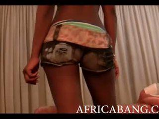 Африканки аматьори boned трудно от бял мъж