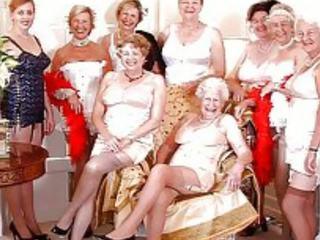 grannies, milfs, ओल्ड + युवा