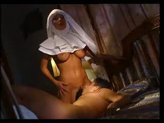 blowjobs, european, nun