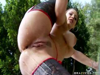 Момиче getting тя голям дупе прецака