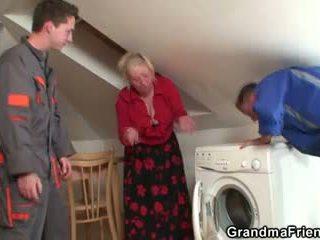 gammal, 3some, mormor