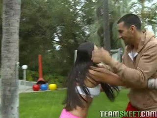 Aziýaly jana adrianna luna works out and gets nailed