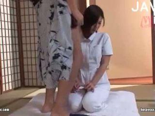 ruskeaverikkö, japanilainen, tyttö