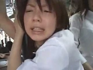 Japapnese 女孩 getting 性交 同 一 震動器 在 一