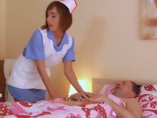 Step dad gets fucking treatment horny nurse