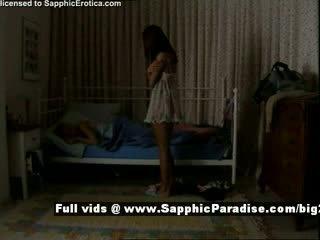 Delores și jo de la sapphic eroticalesbian fete teasing